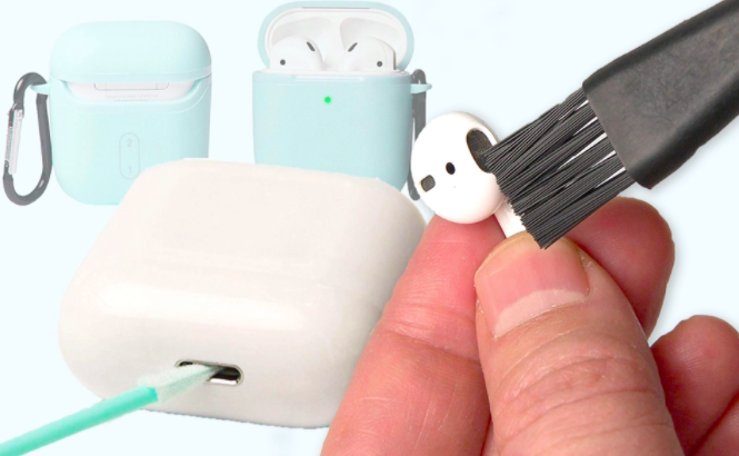cleaning airpods automatic ear detection